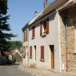 Stock Photo: Village of in les Yvelines Evecquemont
