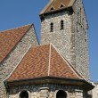 Yvelines, the church of Guitrancourt — Stock Photo