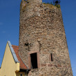 Old tower in Kaysersberg in Alsace — Stock Photo
