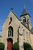 France, church of Fremainville in Val d Oise — Stock Photo