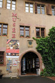 The post museum of Riquewihr in Alsace — Stock Photo