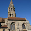 Stock Photo: Saint Etienne church of Bouconvillers in Picardie