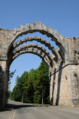 The old aqueduct of Maintenon in Eure et Loir — Stock Photo
