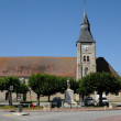 Ile de France, the church of Bourdonne — Stock Photo