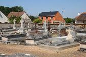 The cemetery of Pierres in Eure et Loir — Stock Photo