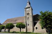 France, the church of Bourdonn�� — Stock Photo