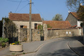 France, the village of Chapet in les Yvelines — Stock Photo