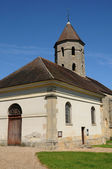 France, the classical church of Condecourt in Val d Oise — Stock Photo