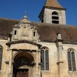 Stock Photo: Ile de France, old church of Marines
