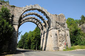 The old aqueduct of Maintenon in Eure et Loir — Stock Photo