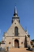 The church of Pierres in Eure et Loir — Stock Photo