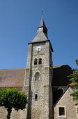 Ile de France, the church of Bourdonnee — Stock Photo