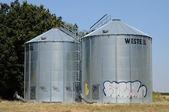 France, silo in Eure et loir — Stock Photo