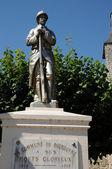 France, war memorial of Bourdonne — Stock Photo