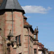 The city hall of Kaysersberg in Alsace - 图库照片
