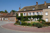 Francie, vesnice bourdonne v les yvelines — Stock fotografie