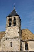 France, church Saint-Eloi in Les Menuls — Stock Photo