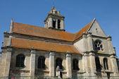 Ile de France, the old church of Epiais Rhus — Stock Photo