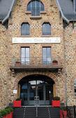 Brittany, hotel Castel Beau Site in Ploumanac h — Stock Photo