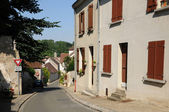 The village of in les Yvelines Evecquemont — Stock Photo