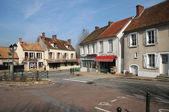 France, the village of Les Menuls in les Yvelines — Stock Photo