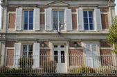 France, the city hall of Wy dit Joli Village — Stock Photo