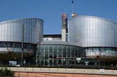 France, the European Court of Human Rights — Stock Photo