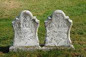 New Richmond, gravestone in Saint Andrew cemetery — Stock Photo