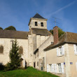 Yvelines, the church of Neauphle le Vieux - Stock Photo
