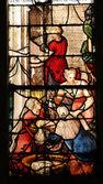 Ile de France, the church of Montfort l Amaury — Stock Photo