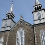Quebec, the historical church of Saint Roch des Aulnaies — Stock Photo #15779433