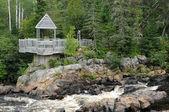 Quebec, parque de le moulin des pionniers de la dore — Foto de Stock