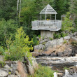 Quebec, park of le Moulin des Pionniers in La Dore — Stock fotografie