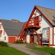 Quebec, museum of the National Park of Perce - Stock Photo