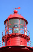 Quebec, the lighthouse of La Martre in Gaspesie — Stock Photo