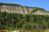 Quebec, the Parc National du Forillon in Gaspesie — Stock Photo