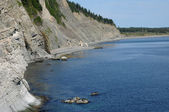 Quebec, the Parc National du Forillon in Gaspesie — Stockfoto