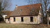 France, damaged house in les Yvelines — Stock Photo