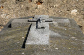 Ile de France, the cemetery of Wy dit Joli Village in Val d Oise — Stock Photo
