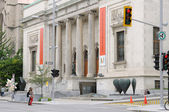 Quebec, fine arts museum in Montreal — Stockfoto