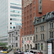 Stock Photo: Quebec, Sherbrooke ouest street in Montreal