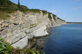 Quebec, het parc national du forillon in gaspesie — Stockfoto