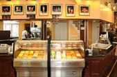 Quebec , ice cream shop in the city of Levis in Chaudiere Appala — Stock Photo