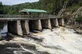 Quebec, parc de la caverne trou dans honorario en desbiens — Foto de Stock