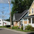 Stockfoto: Quebec; picturesque village of Roberval