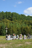 Canada, Quebec, the cemetery of Tadoussac — Stock Photo
