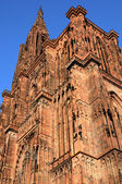 Cathedral of Strasbourg in Alsace — Stock Photo