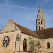 Stock Photo: Church of Orgeval in Les Yvelines