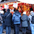 Bas Rhin, Christmas market in Strasbourg — Stock Photo