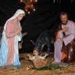 Stockfoto: Nativity scene in Triel sur Seine church
